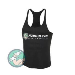 Herculean Muscle Vest Black