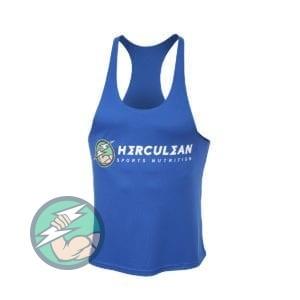 Herculean Muscle Vest Blue