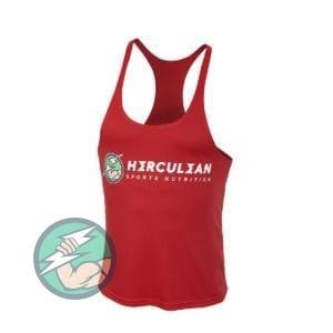 Herculean Muscle Vest Red