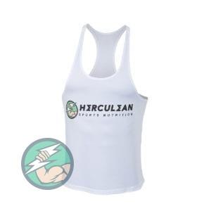 Herculean Muscle Vest White