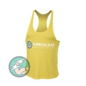 Herculean Muscle Vest Yellow